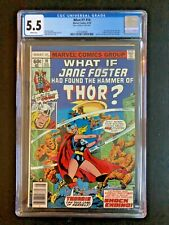 CGC What If? 10 1978 first 1st Jane Foster Thor love and thunder Natalie Portman