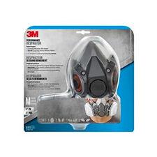 3M Multi-Purpose Dual Respirator | 1 Facepiece, 2 Cartridges | Medium NEW