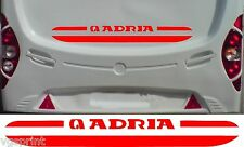 ADRIA CARAVAN/MOTORHOME 2 PIECE KIT DECALS STICKERS CHOICE OF COLOURS & SIZES #2