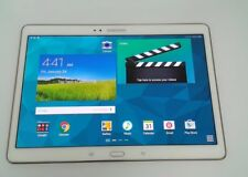 Samsung Galaxy Tab S SM-T807V 16GB Wi-Fi + 4G Verizon (Unlocked) Burn 8/10 #3895