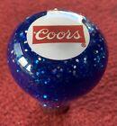 vintage Coors beer Roadway style glitter shift knob shifter ball Peterbilt KW