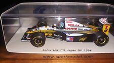 Spark 1/43 Lotus 109 #11 Japan GP 1994 Mika Salo S1780