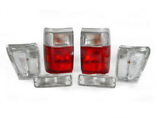 DEPO 1990 1991 TOYOTA 4RUNNER RED / CLEAR TAIL LIGHTS + CORNER + BUMPER SIGNALS