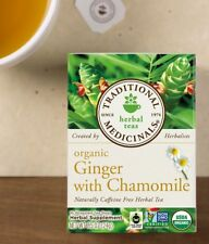 Traditional Medicinals Ginger with Chamomile organic tea