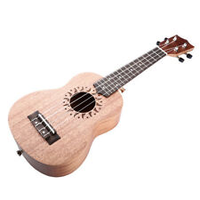 "NEW 21"" Wooden Soprano Ukulele-Rosewood 4 String Acoustic Instrument US"