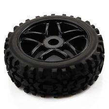4x Pentagram Wheel Rim&Diamond arrow pattern Tires for 1:8 Off Road RC Car Buggy