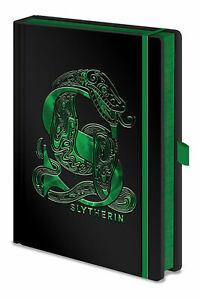 Harry Potter - Slytherin - Notizbuch A5, Notebook, Block - Größe 15x21 cm
