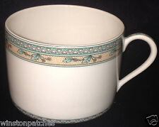 PORCELAINE LAFARGE LIMOGES FRANCE GRIOTTES FLAT CUP 8 OZ CHERRIES & TRIANGLES