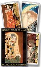 Golden Tarot of Klimt Mini Deck  GOLD FOIL Atanas A. Atanassov *CAT-atude