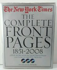 The New York Times : The Complete Front Pages, 1851-2008 by Richard Bernstein...