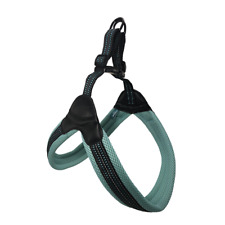 Sporn Easy Fit Dog Harness Extra Large Blue Soft Padded Step In FREE POSTAGE