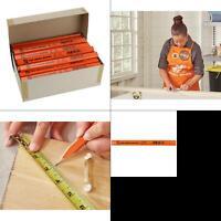 over-sized fcs 100% carpenter pencils bulk (72-pack, boxed)