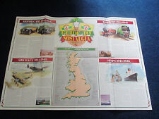 Poster Transport Car Train Plane Boat ANCHOR Butter Rare Large 50 x 27cm ex cond