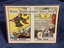 "Rider Waite Smith Tarot Card Deck 78 Cards 2 7/8"" x 4 3/8"""