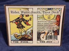 "Rider Waite Smith Tarot Card Deck 78 Cards 2 7/8"" x 4 3/8"""