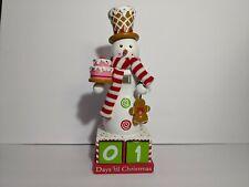 Snowman Nutcracker Advent Calendar Days Till Christmas Holiday Winter