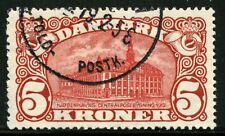 Denmark 1915 General Post Office Copenhagen Scott 135 Used Cv$175 0A