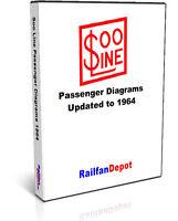 Soo Line Passenger Car Diagrams - PDF on CD - RailfanDepot