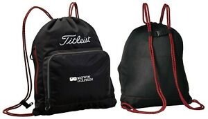 Titleist Golf Essential Sack Pack Drawstring Backpack RRP£30 Brewin Dolphin Logo