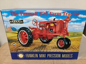 Farmall F20 Farm Tractor Franklin Mint Precision Models 1:12 Scale Model
