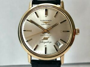 LONGINES CHROMETER FLAGSHIP ULTRA-CHRON - Vintage automatic watch from 60's