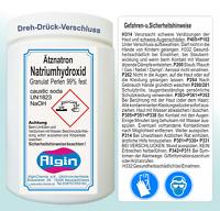 Ätznatron Natriumhydroxid 5 kg in 5 Deckeldosen Caustic soda