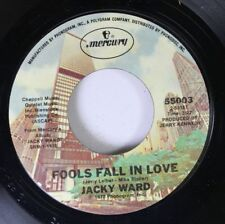 Country 45 Jacky Ward - Fools Fall In Love / Big Blue Diamond On Mercury