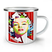 Marilyn NEW Enamel Tea Mug 10 oz   Wellcoda