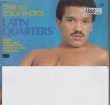 Gay magazine Latin Quarters 80s 90s vintage homo playgirl playguy photography