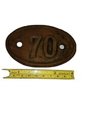 Victorian Cast Iron House Number 70