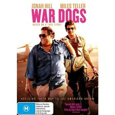 WAR DOGS-Miles Teller-Region 4-New AND Sealed
