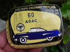 ADAC anniversario obiettivo Viaggio Monaco 1963 BADGE PLACCA California Borgward Isabella