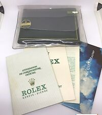 RARE Rolex 1975 GMT 1675 Warranty Certificate Guarantee Papers, Manual Daytona