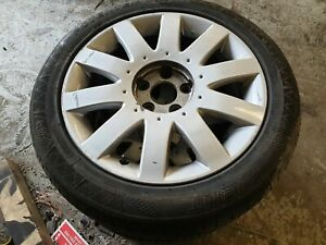 Set 4 Nissan Primera 17 Inch 5 stud Alloy Wheels And Tyres 215/50z/r17