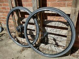 700c wheelset Ambrosio Shimano Alfine 8 Deore