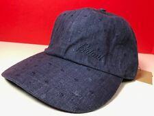 5b078956a2d Brioni Hat Adjustable Baseball Cap Denim Look 100% Cotton Brioni Blue Hat