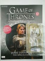 GAME OF THRONES ISSUE 17 JAIME LANNISTER EAGLEMOSS FIGURE COLLECTOR'S MODEL