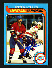 Steve Shutt Autographed Signed 1979-80 Topps Card #90 Montreal Canadiens 154308