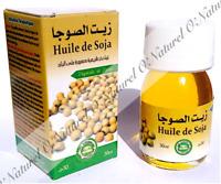 Huile de Soja 100% Pure & Naturelle Soya Bean Oil, Aceite de Soja