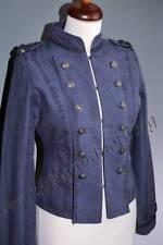Waist Length Cotton Military Coats & Jackets for Women