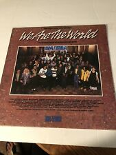 'WE ARE THE WORLD' USA FOR AFRICA LP Vinyl