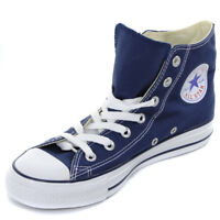 Converse All Star Hi Top Canvas Trainers - Navy  Mens, Womens Size
