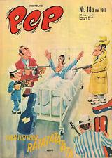 PEP 1969 nr. 18 - DONOVAN / REAL MADRID (POSTER) / JOHNNY GOODBYE (COVER)