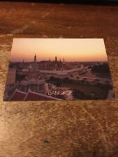 Thailand Postcard 126-C Wat Phra Keo Sunset
