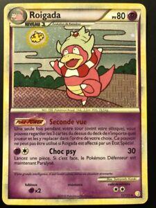 Carte Pokemon ROIGADA 12/123 Holo HGSS Heartgold Soulsilver FR NEUF