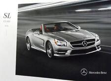 2014 Mercedes Benz SL-Class SL550 SL63 SL65 AMG 28-page Sales Brochure Catalog