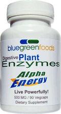 Alpha Energy Digestive Enzymes 90CAP/500MG - New