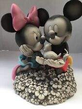 Disney World Park Mickey & Minnie Mouse Flower & Garden Statue 2015 Festival NIB