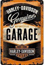 Harley-Davidson Garage, Chopper Motos Logo, Moyen 3D Métal estampé Enseigne