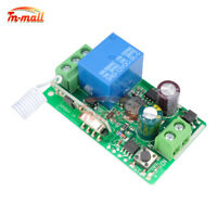 1CH 433MHZ DC 220V Wireless RF Remote Receiver Transmitter Relay Control Switch